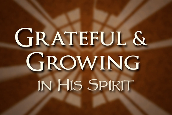 Saint Catherine's Grateful & Growing in His Spirit Campaign